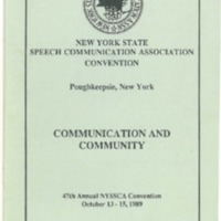 1989, Communication and Community.pdf